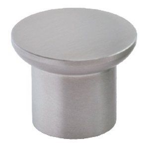 Siro Cabinet Hardware - Stainless Steel Collection III Fine Brushed Stainless Steel Knob