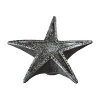 Siro Designs - Venice - Starfish Knob in Antique Silver