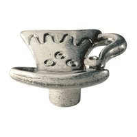 Siro Designs - Big Bang - Cup Knob in Antique Pewter