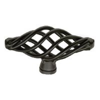 Siro Designs - Provence - Medium Knob Matte Black